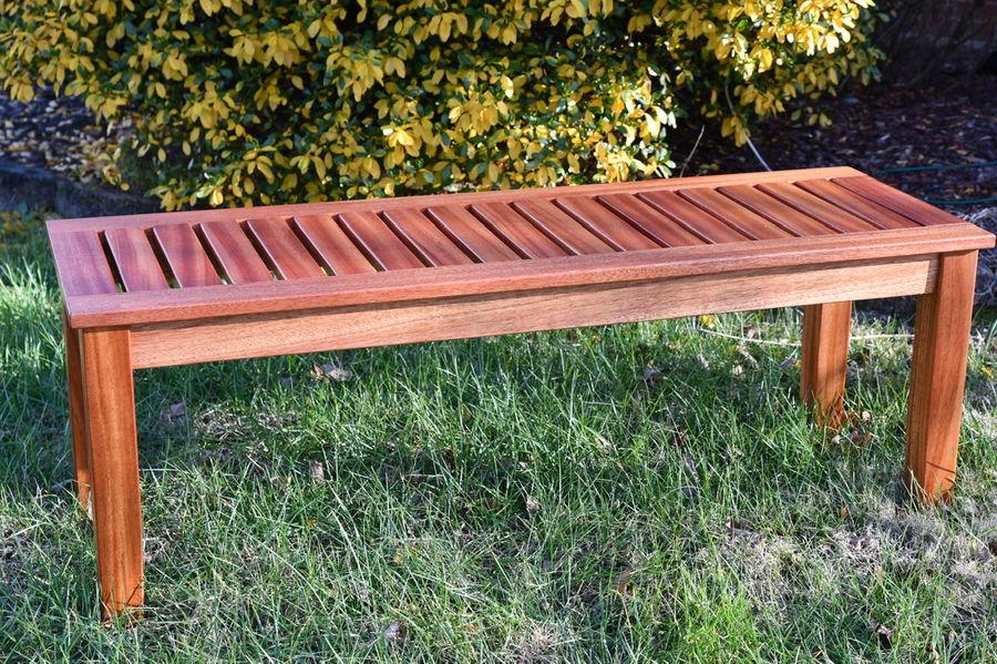 Photo of Mahogany Sitting Bench