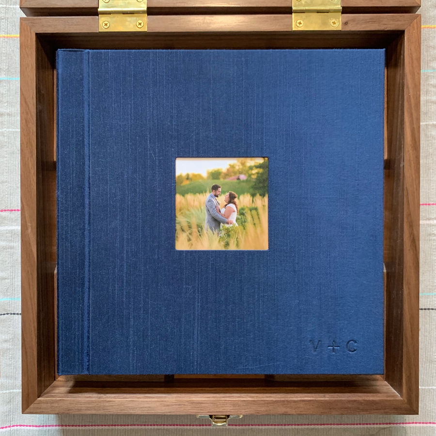Photo of Box: Wedding Photo Album