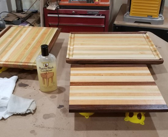 Quick Cutting Board Project