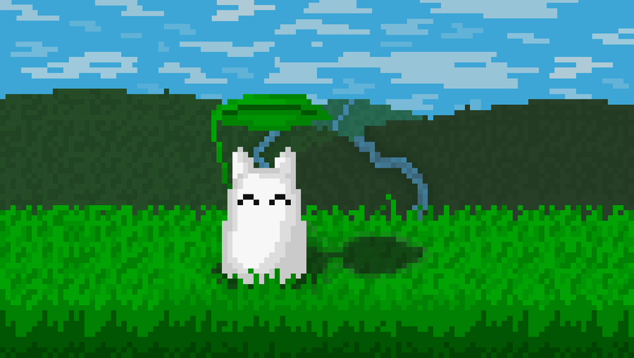 Photo of Pixel Totoro