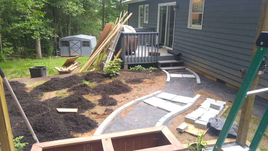 Photo of Pergola And Backyard Transformation