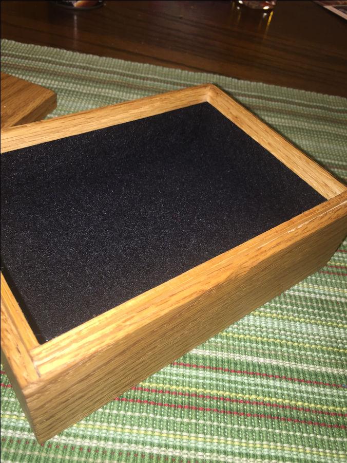 Photo of Oak Jewelry/Stash Box