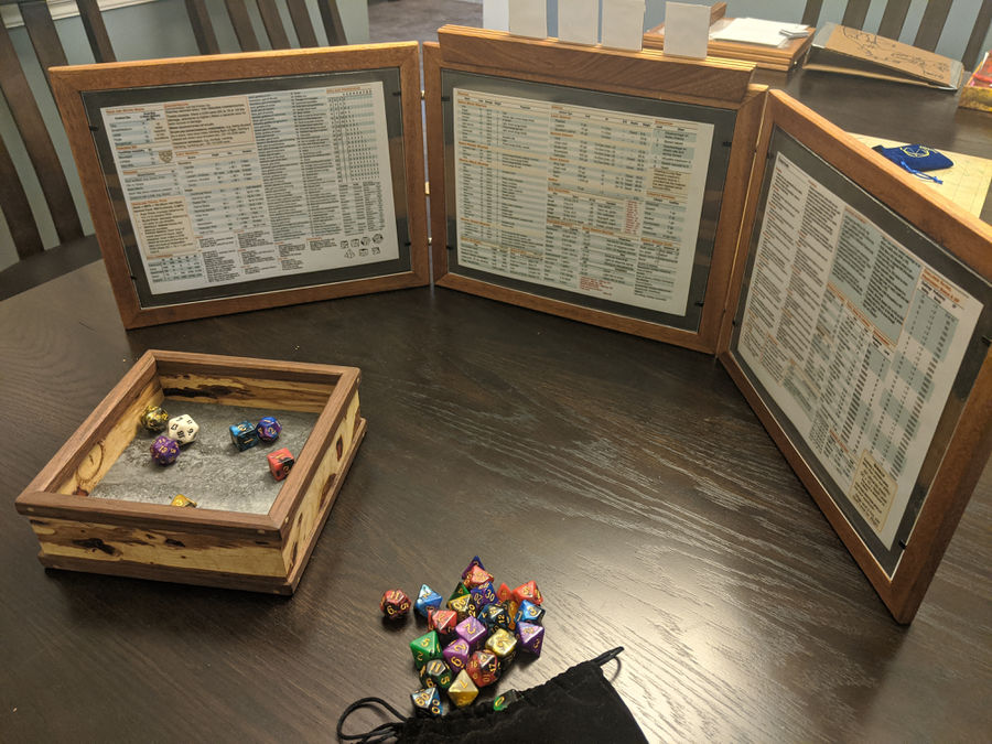 Photo of Dungeons and Dragons DM Screens