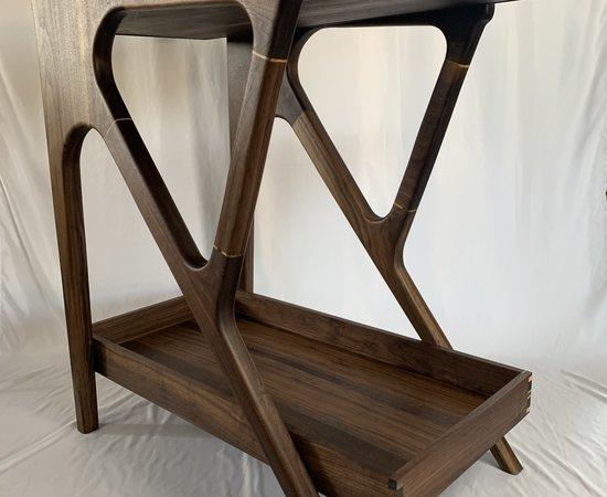 Bar Cart - Mid Century Modern