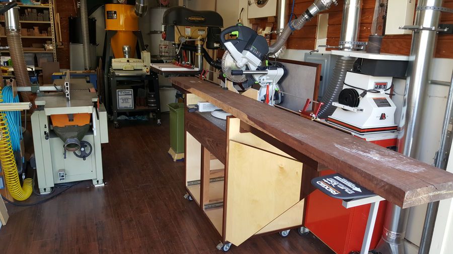 Photo of Portable Miter Saw Station