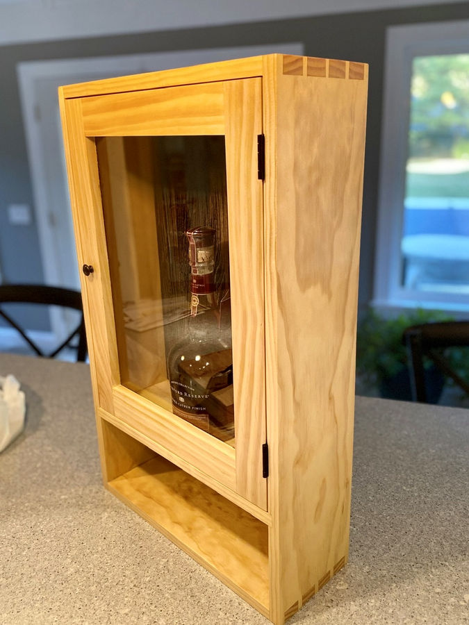 Photo of Prototype Bourbon Cabinet