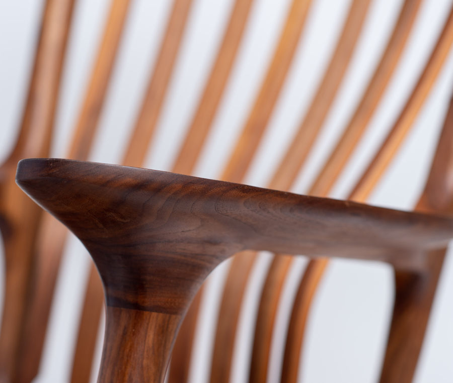 Photo of Maloof Style Sculpted Rocker