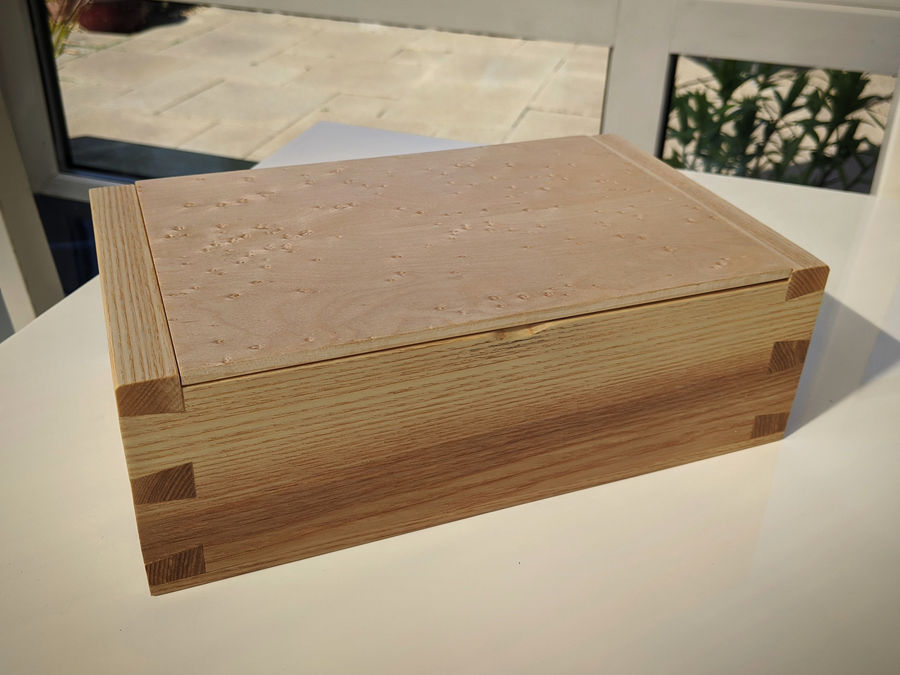 Photo of Ash & Birdseye Maple Box