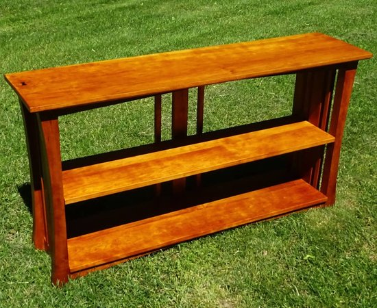 Mission Bookcase In Cherry
