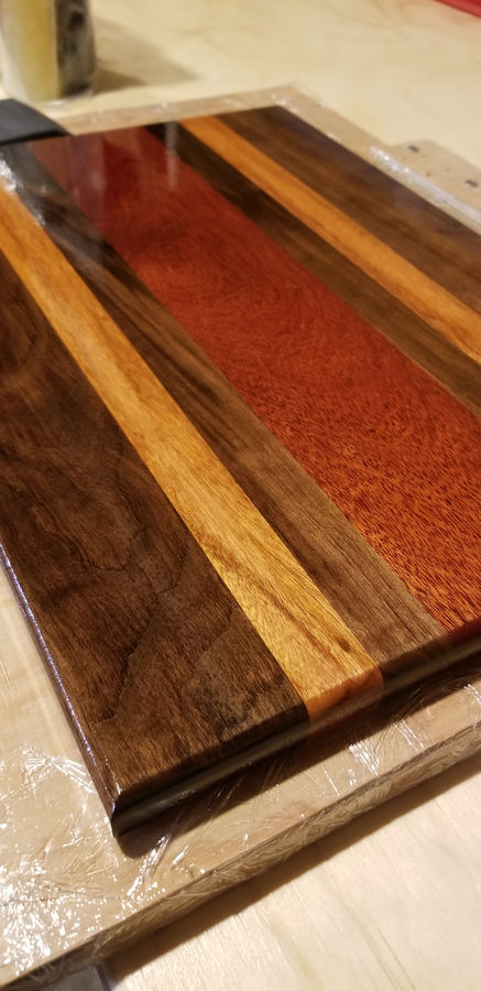 Photo of Bloody Cutting Board
