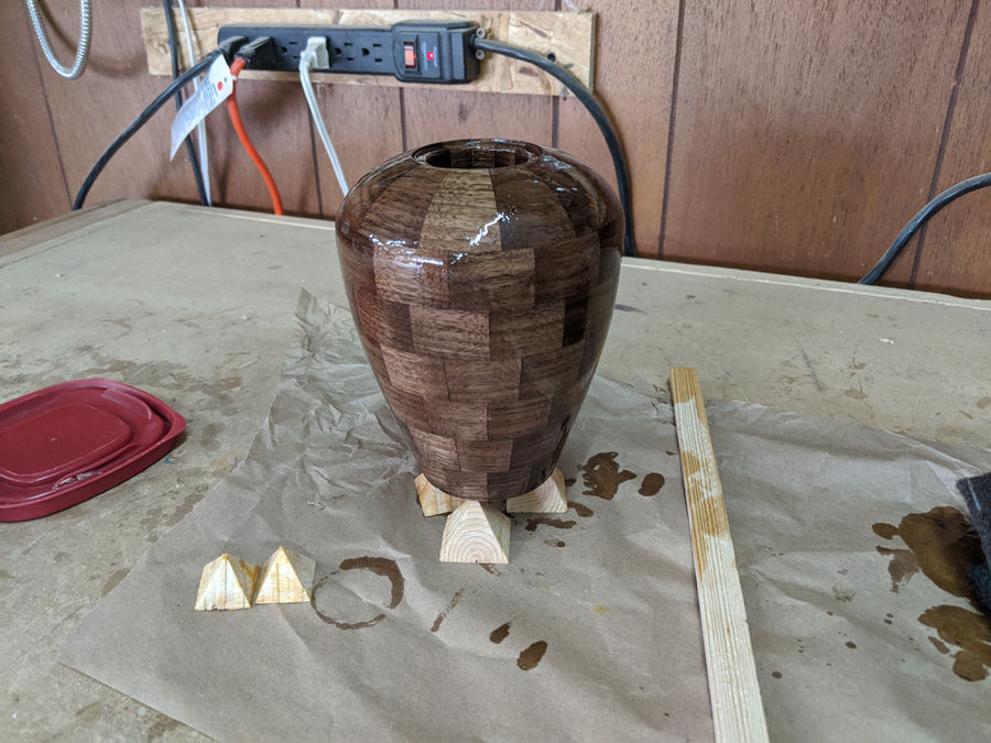 Photo of Segmented Urn