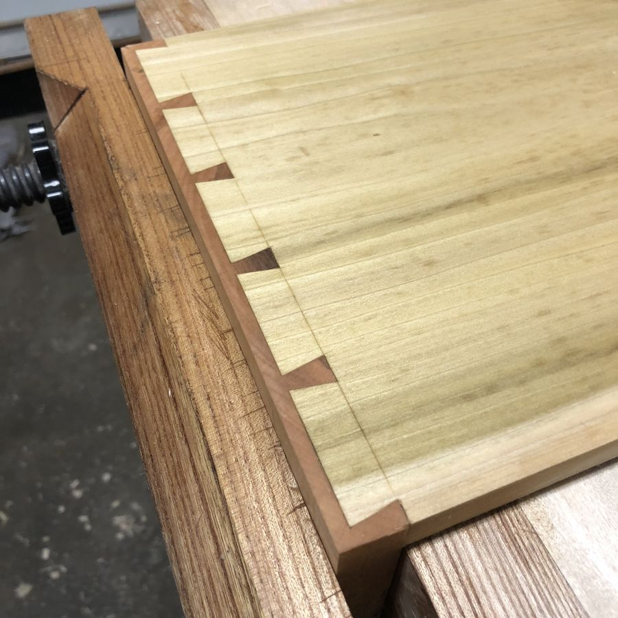 Photo of Curly Maple Nightstands