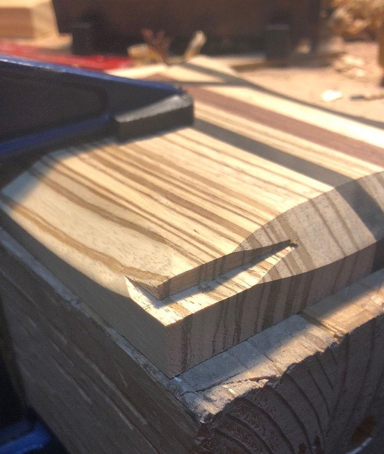 Photo of Rosewood And Ebony Nightstand Box