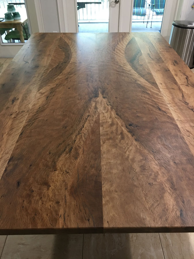 Photo of Live Oak dining table