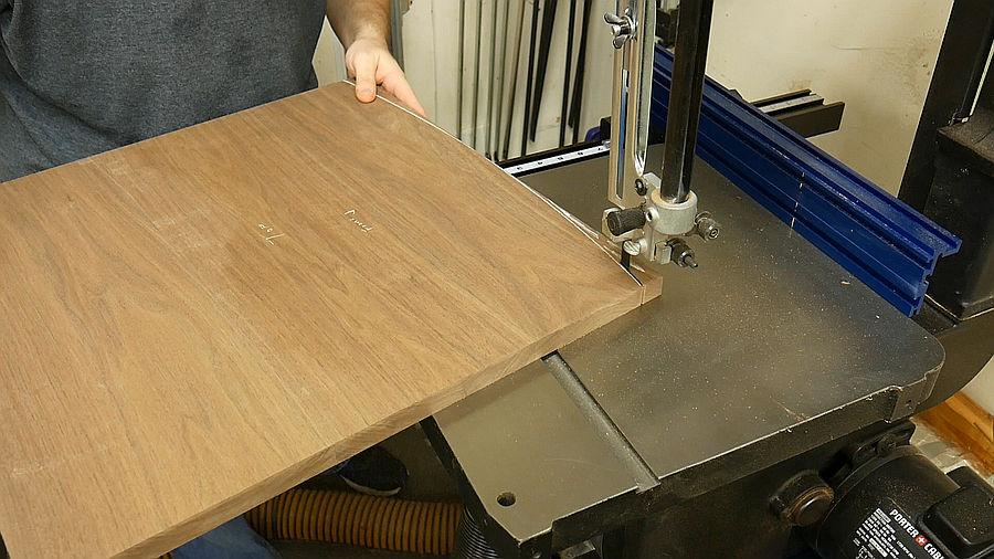 Photo of Custom Walnut End Tables