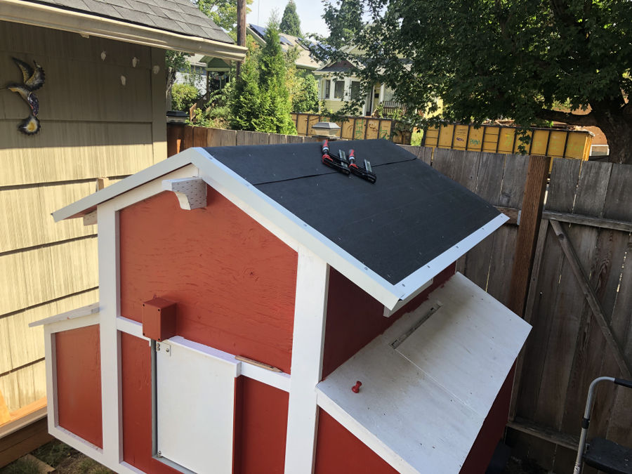 Photo of Chicken Coop for Four Hens