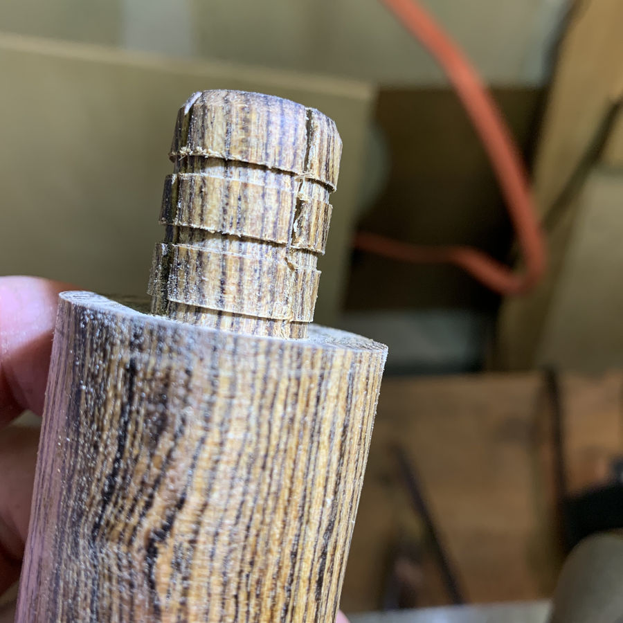 Photo of Brass and cocobolo mallet