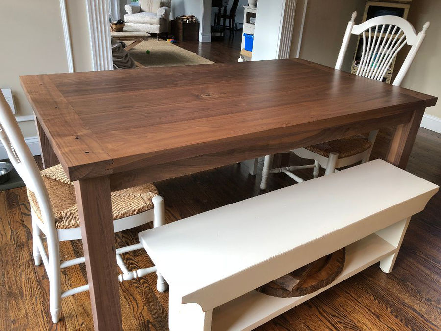 Photo of Walnut Dining Table