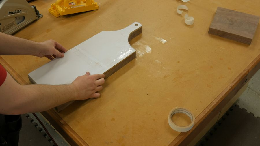 Photo of Walnut Crotch Cutting Board