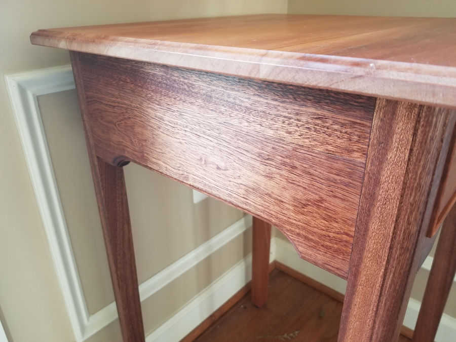 Photo of Cherry and Sapele End/Occasional Tables