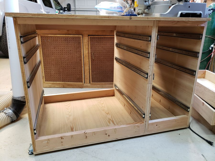 Photo of Workshop Cabinets