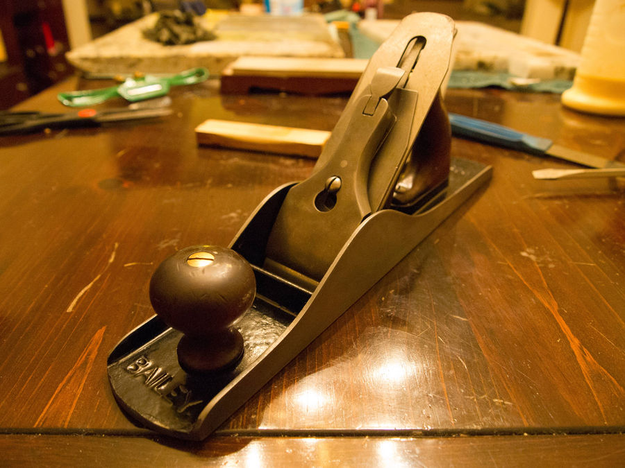 Photo of Stanley No.5 Record Type 9 Bench Plane Restoration