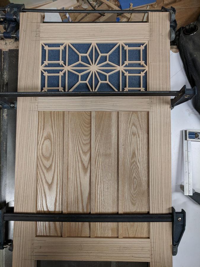 Photo of Ash Tea Cabinet