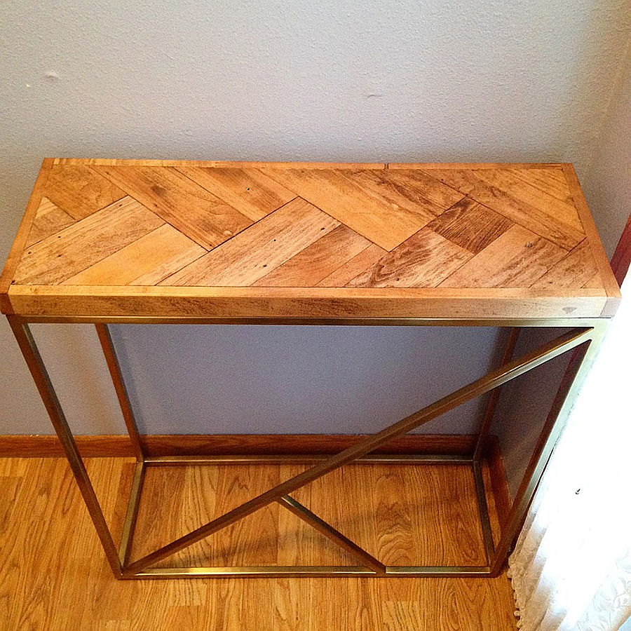 Photo of Honey Do's - Houndstooth Table And Half-Lap Frame
