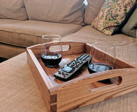 Chestnut Couch Tray