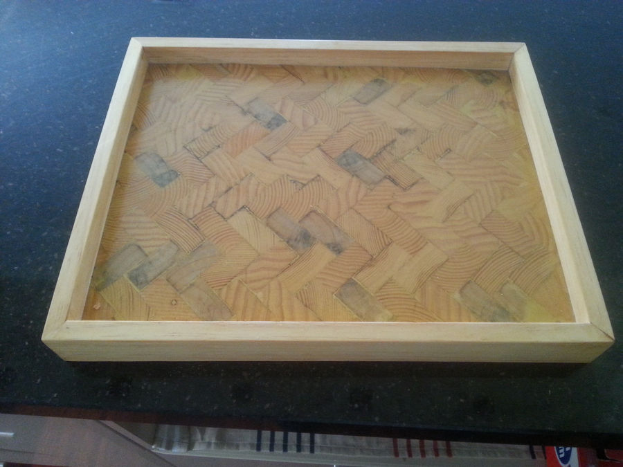 Photo of End Grain Trays