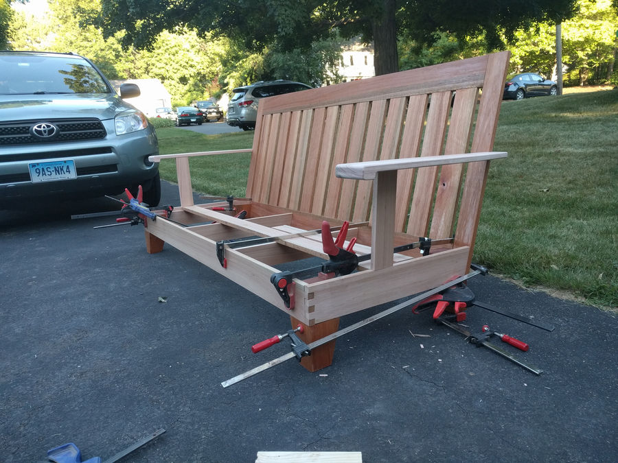 Photo of Outdoor Eucalyptus Couch