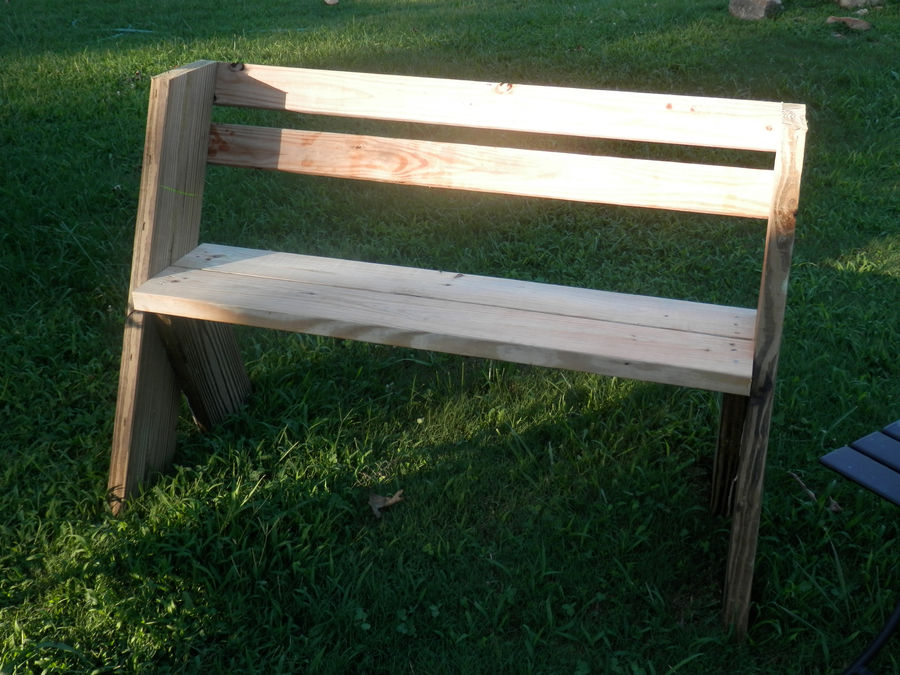 Surprising Leopold Style Garden Bench By Grimster Simplecove Pabps2019 Chair Design Images Pabps2019Com
