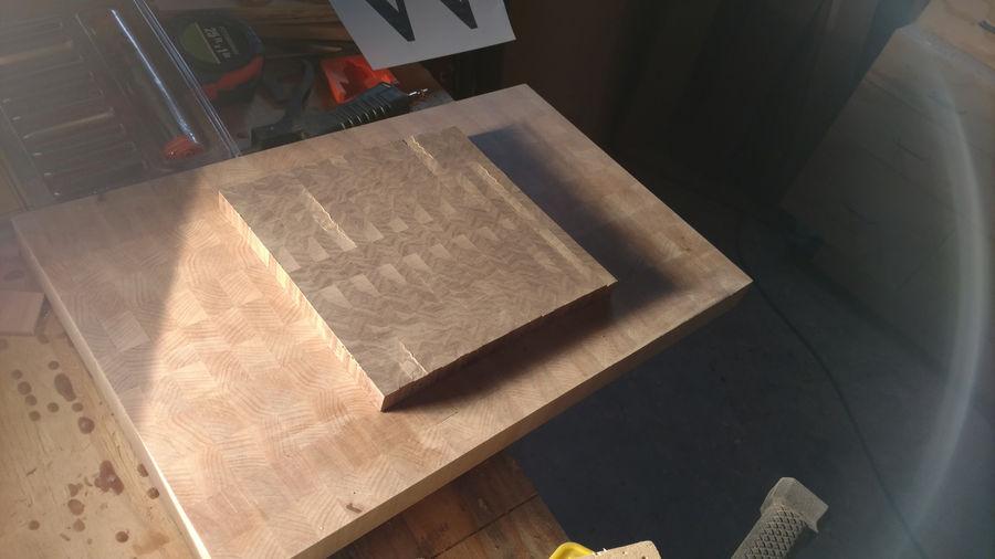 Photo of Monogram Endgrain Cutting Board