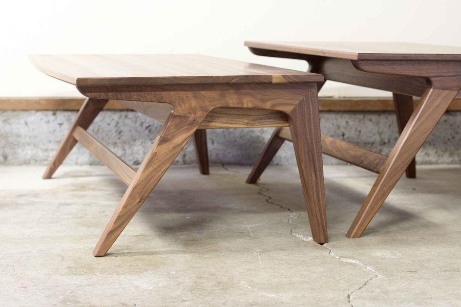 Photo of Mid-Century Modern Walnut Coffee Table