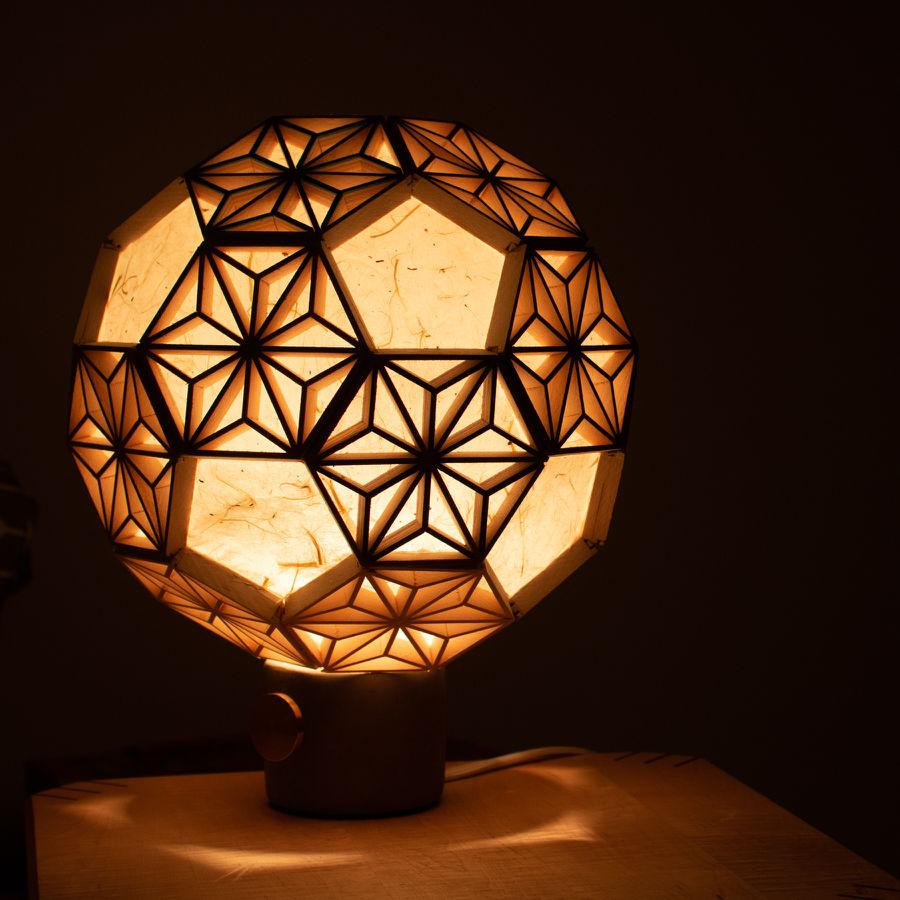 Photo of Spherical Kumiko Lamp