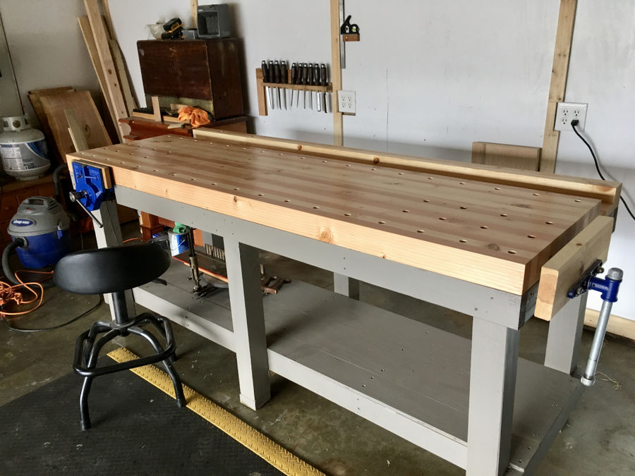 Photo of Handtool Workbench